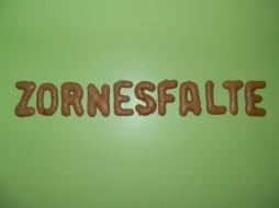 Foto: Zornesfalte